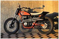 Honda CL360 1974 By JMR Customs