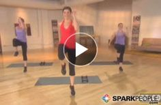 18-Minute Bootcamp Cardio Sculpt (head to toe toning plus fat-burning intervals) #workout #fitness | via @SparkPeople @Coach Nicole