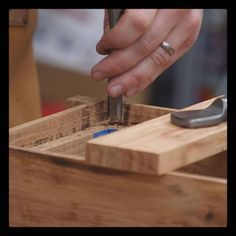 Chop chop! Are you more of a square off the rabbet/mortise kinda person or round over the tenon/inset panel kinda person?