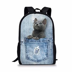 17364a536d24 79 Best Book Bags Crazy Novelty Kids images in 2017 | School ...