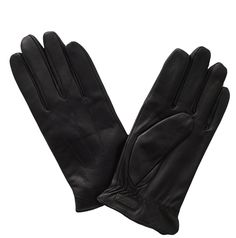 Woman leather touch glove $89