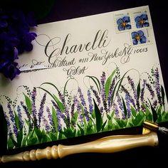 F Phyllis Macaluso ( Envelope Lettering, Calligraphy Envelope, Envelope Art, Calligraphy Art, Envelope Addressing, Pen Pal Letters, Letter Art, Alphabet Art, Mail Art Envelopes