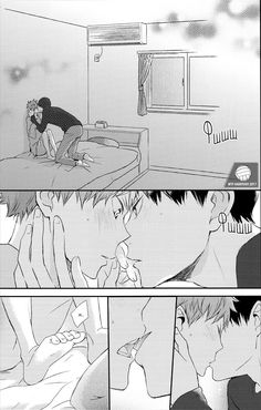 Tobio kageyama && Shouyo Hinata||Haikyuu!! Dj #anime #yaoi #haikyuu #love #shoneai #manga