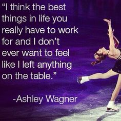 Her ability to rise from an underdog just catches my heart every time I think about her journey. Ice Skating Quotes, Figure Skating Quotes, Figure Skating Dresses, Skating Pictures, Ashley Wagner, Tennis Funny, Winter Olympics, Roller Skating, Powerful Words