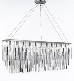 F7-B40/926/11 Gallery Modern / Contemporary 11 LIGHT CRYSTAL LIGHTING PENDANT