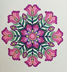 Flower Designs Coloring Book: An Adult Coloring Book for Stress-Relief, Relaxation, Meditation and Creativity (Volume 2) (Jenean Morrison Adult Coloring Books): Jenean Morrison: 9780692585993: Amazon.com: Books