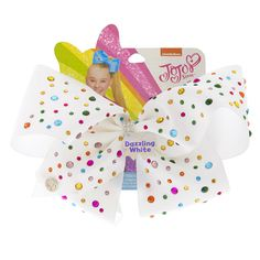 Shop Claire's for the latest trends in jewelry & accessories for girls, teens, & tweens. Find must-have hair accessories, stylish beauty products & more. Jojo Hair Bows, White Hair Bows, Jojo Bows, Jojo Siwa Birthday, 22nd Birthday, Prayer For Daughter, Jojo Siwa Outfits, Jojo Siwa Bows, Callie And Marie