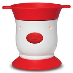 Maraschino Pedestal Velata Fondue Warmer  This lovely warmer features a perfect pop of red. Price $40.00, Shop on my website at https://deannawallace.velata.us/Velata/Home  If you are interested in receiving a catalog, ordering, hosting a party, or joining my team please contact me!!!