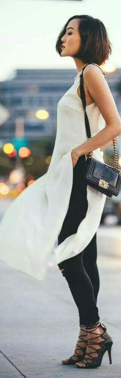 Fringe Silk Mini Dress by Haney / Fashion by The Chrishelle Factor