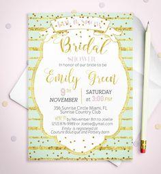 Bridal Shower Invitation Printable lavender  Bridal by AlniPrints  #Bachelorette #Bridal #Shower #Invitation #brunch #idea #invite #Lingerie #party #dinner