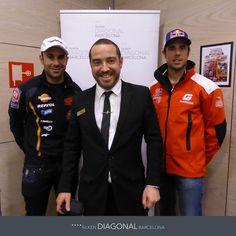 En la presentación del Trial Indoor de Barcelona, en el Hotel Silken Diagonal, Toni Bou y Adam Raga se hicieron esta foto con José Román, maître del Restaurante Piano. http://www.hoteles-silken.com/hoteles/diagonal-barcelona/