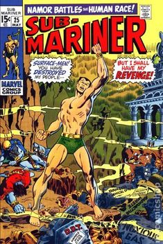 Sub-Mariner (1968 1st Series) 25