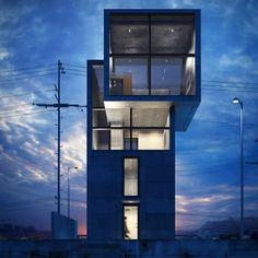 Tadao Ando - 4x4 House (2003, Tarumi-Ku)