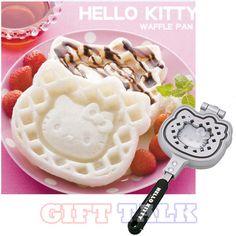 "Sanrio Hello Kitty Waffle Maker Non Stick Iron Pan Snacks ""Officially Licensed"" on eBay!"