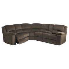 Our Terrance 3-Pc. Power Sectional wont leave you longing for more. Two loveseats and a corner provide plenty of lounging space for everyone. A power operated reclining mechanism lets you kick your feet with hardly any effort at all. And the built-in console with two drink holders keeps cold beverages within reach for the ultimate …