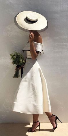 24 Romantic Bridal Gowns Perfect For Any Love Story ❤️ romantic bridal gowns portrait neckline simple calistaone ❤️ Full gallery: https://weddingdressesguide.com/romantic-bridal-gowns/ #bride #wedding #bridalgown
