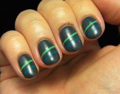 Lacquer Buzz: Colorful Stripes