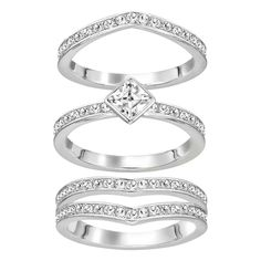 Swarovski Alpha Stack Ring - Geeves Jewellers - suppliers of watches and jewellery, London