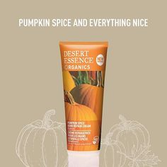 "So much pumpkin. So much goodness. ""Moisturizes without leaving hands slippery, & comes in a generously portioned tube."" - @allure #pumpkinspice #pumpkin #glutenfree #skincare"