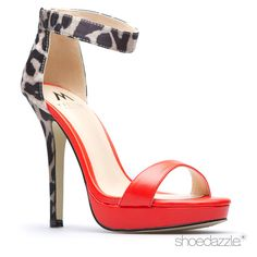 It ain't fai-ya, Dreya. You're just too pretty! Red & leopard is perfection @shoedazzle #shoedazzle #stilettosociety