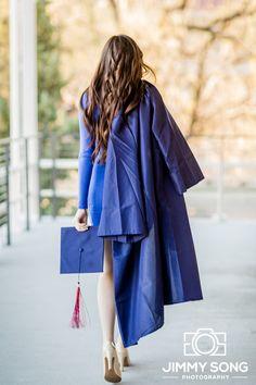 Tucson Arizona University of Arizona Senior Grad Graduation Pictures Photographer Dress Cap Gown