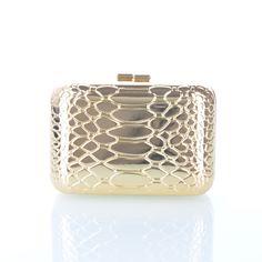 New Cute spletna trgovina unikatni modni izdelki TORBICA CLUTCH KROKO - zlata