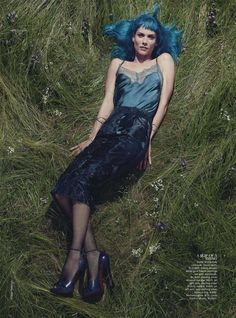 Oh Land by Robbie Fimmano for Vogue Australia September 2013