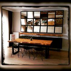 Kütük masa, ağaç masa, doğal ahşap masa / Bilenor Orman Ürünleri San. ve Dış Tic. Ltd. Şti. Natural Wood Table, Log Table, Wooden Desk, Entryway Tables, Dining Tables, Wood Crafts, Living Room Decor, Diy Home Decor, Sweet Home