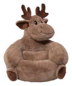 Shop for Trend Lab Children's Plush Moose Character Chair. Get free delivery at Overstock - Your Online Nursery Decor Shop! Get in rewards with Club O! Moose Nursery, Woodland Nursery, Woodland Baby, Bambi Nursery, Farm Nursery, Baby Boy Rooms, Baby Boy Nurseries, Donia, Baby Arrival