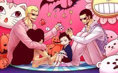 Donquixote Family Trafalgar D Water Law Donquixote Doflamingo Joker Vergo One Piece