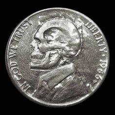 "The term ""Hobo Nickel"" describes any small-denomination coin (though, normally soft nickels) that people carve to create miniature reliefs"