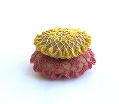 Lace stone pebble beach Weddings favors home decor 3D by astash, $38.00