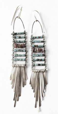 Turquoise earrings. For more follow www.pinterest.com/ninayay and stay positively #pinspired #pinspire @ninayay
