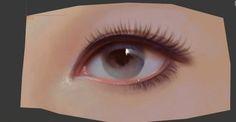 32 Ideas Eye Anatomy Zbrush For 2019 Eye Anatomy, Anatomy Poses, Female Character Design, Character Modeling, 3d Modeling, 3d Character, Smokey Eyeshadow Tutorial, Zbrush Hair, Eye Logo