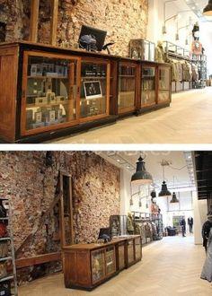 54 Ideas For Bread Shop Interior Inspiration Small House Furniture, Metal Patio Furniture, Trendy Furniture, Cheap Furniture, Homemade Outdoor Furniture, Geometric Furniture, Modern Patio, Retail Interior, Furniture Showroom