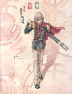 Ace: Final Fantasy Type Zero by Nick-Ian