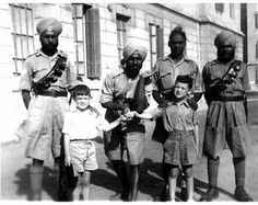 1942 image of Singhs from a Sikh regiment serving in an African campaign...where my grandfather was located. Hence Kenya!