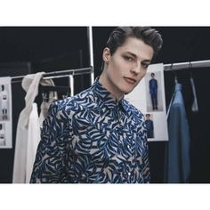 Brodie Scott|at cerruti backstage