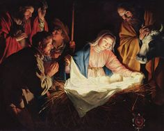 The Adoration of the Shepherds (Gerard van Honthorst 1590–1656)