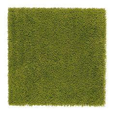 IKEA HAMPEN - Rug, high pile, bright green - 80x80 cm IKEA http://www.amazon.com/dp/B00GMM9KVU/ref=cm_sw_r_pi_dp_qf6qxb059D60V