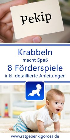 Gentle promotion options for your baby: games & toys Krabbelnlernen - Regular Baby Feeding Baby Toys, Baby Baby, Diy Bebe, Baby Care Tips, Baby Arrival, Baby Development, Baby Games, Natural Baby, Baby Feeding