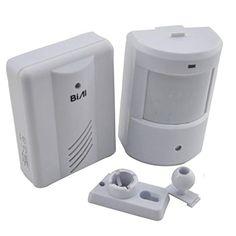 Lifemall EL T�rklingeln & Chimes T�rklingel drahtlose Infrarot-Monitor Sensor-Detektor-Eintrag T�rklingel Alarm