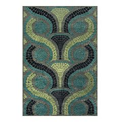 Feizy® Saphir Yardley Collection Steel & Dark Grey Area Rug at www.bonton.com