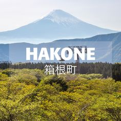 Fabulous Mount Fuji views, restorative hot spring baths, world class art museums. Hakone Japan, Japon Tokyo, Mount Fuji, Beautiful Scenery, Hot Springs, Japan Travel, Baths, Countryside, Postcards