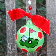 Cute Christmas ornament to paint!!