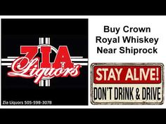 Buy Crown Royal Near Shiprock Death By Coconut, Crown Royal Whiskey, Aged Whiskey, Buy Crown, Dont Drink And Drive, Vintage Wine, Liquor Store, Craft Beer, The Good Place