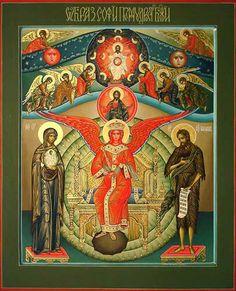"Diana Arkhi Art - Icons - ""Sophia Wisdom of God"""