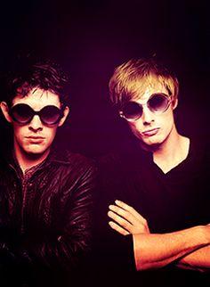 Colin Morgan & Bradley James