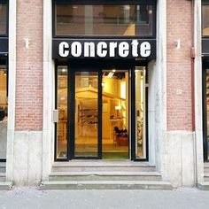 New day, new week!  Our stores are open for business so come by if you are in the area and in need of new sneakers or clothing. Else just visit our webshop and do some online shopping   Concrete Store Prinsestraat the Hague   Concrete.nl