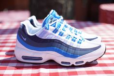 Nike Air Max 95 No Sew 'Uni & Photo Blue'